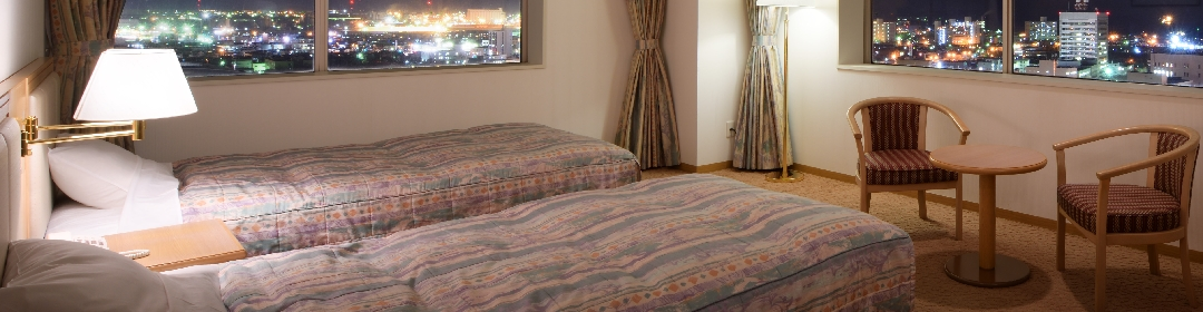 快適さと良質な眠りにこだわった客室